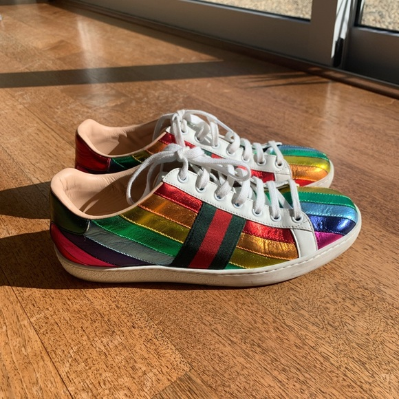Gucci Shoes | Gucci Rainbow Ace